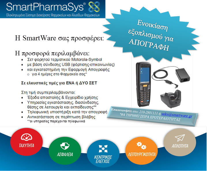 SmartPharmaSys Rental No Price